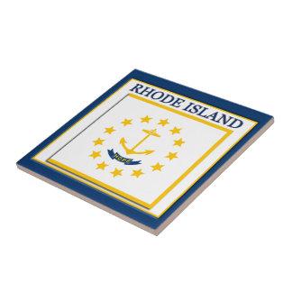 Rhode Island State Flag Design Tile