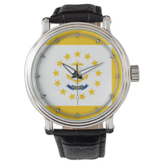 Rhode Island State Flag Design Wristwatch
