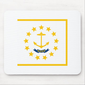Rhode Island State Flag Mouse Pad