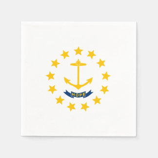 Rhode Island State Flag Napkin