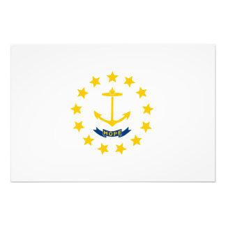 Rhode Island State Flag Photo Print