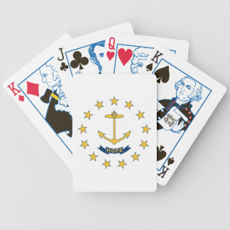 Rhode Island State Flag Playing Cards