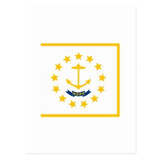 Rhode Island State Flag Postcard