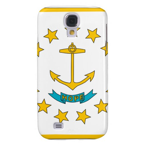 Rhode Island State Flag Samsung Galaxy S4 Cover
