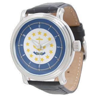 Rhode Island State Flag Watch Design