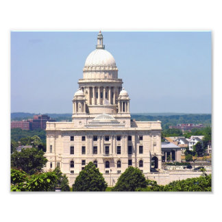 Rhode Island State House in Providence Art Photo