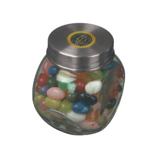 Rhode Island State Seal Jelly Belly Candy Jars