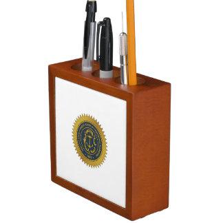 Rhode Island State Seal Desk Organizers