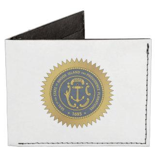 Rhode Island State Seal Tyvek Wallet