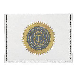 Rhode Island State Seal Tyvek® Card Wallet