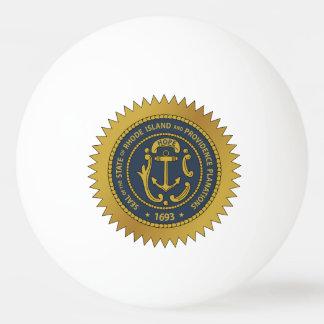 Rhode Island State Seal Ping-Pong Ball