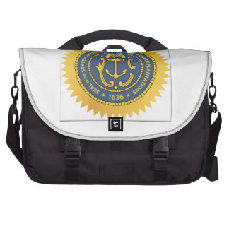 Rhode Island State Seal Laptop Commuter Bag