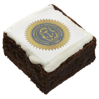 Rhode Island State Seal Square Brownie