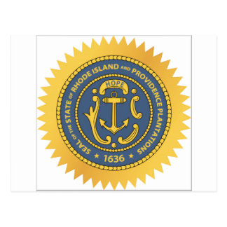 Rhode Island State Seal Postcard