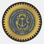 Rhode Island State Seal Sticker