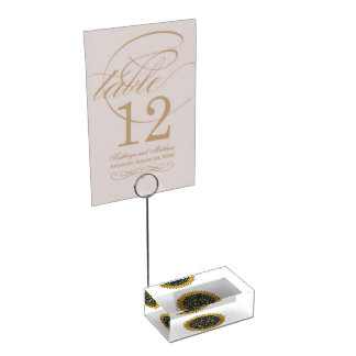 Rhode Island State Seal Table Card Holder