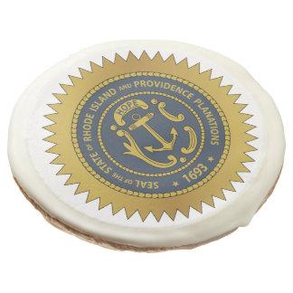 Rhode Island State Seal Sugar Cookie