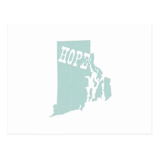 Rhode Island State Slogan Motto Postcards