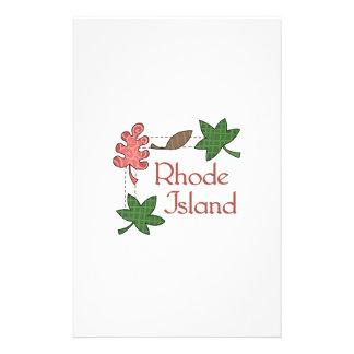 RHODE ISLAND STATIONERY DESIGN