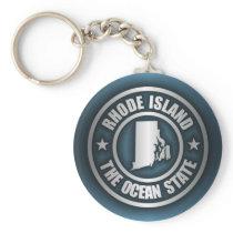 Rhode Island Steel (B) Keychain
