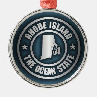 Rhode Island Steel (B) Metal Ornament