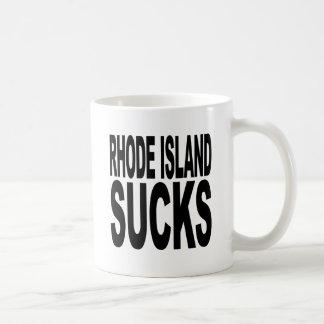 Rhode Island Sucks Classic White Coffee Mug