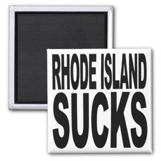 Rhode Island Sucks Refrigerator Magnet