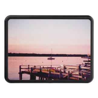 Rhode Island sunset docks Hitch cover