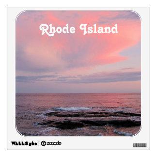 Rhode Island Sunset Wall Graphic