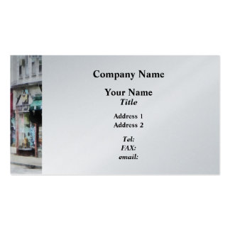 Rhode Island - Thames Street Newport RI Double-Sided Standard Business Cards (Pack Of 100)