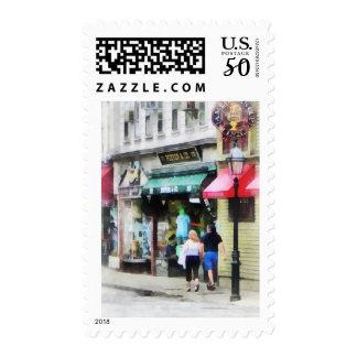 Rhode Island - Thames Street Newport RI Postage