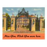 Rhode Island, The Breakers, Newport Postcard