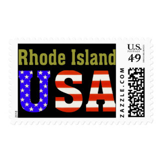 ¡Rhode Island! Timbres Postales
