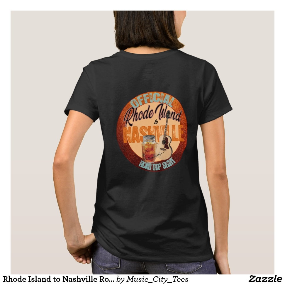 Rhode Island to Nashville Road Trip T-Shirts - Best Selling Long-Sleeve Street Fashion Shirt Designs