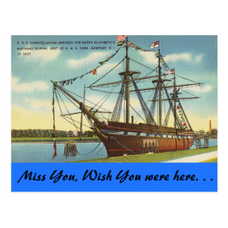 Rhode Island, U.S.S. Constellation, Newport Postal