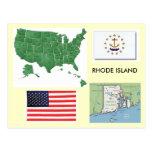 Rhode Island, USA Postcard