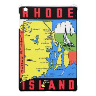 Rhode Island Vintage Retro Kitsch Decal Art iPad Mini Cover