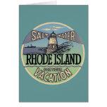 Rhode Island Vintage Travel Greeting Cards