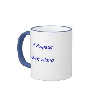 Rhode Island, Weekapaug mug