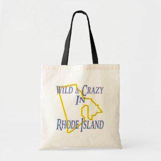 Rhode Island - Wild and Crazy Budget Tote Bag