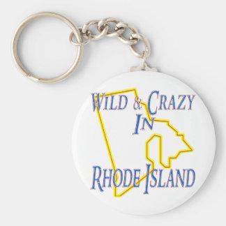 Rhode Island - Wild and Crazy Keychain