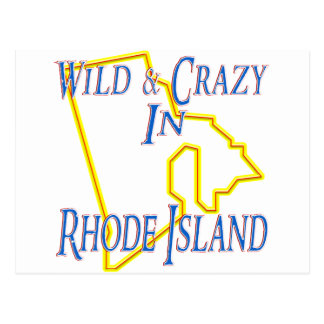 Rhode Island - Wild and Crazy Postcard