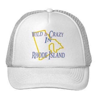 Rhode Island - Wild and Crazy Trucker Hat