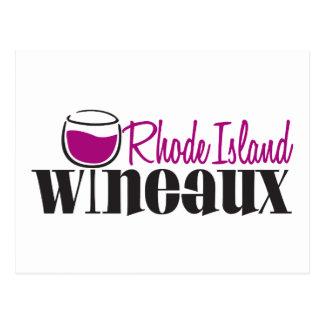 Rhode Island Wineaux Post Card
