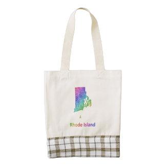 Rhode Island Zazzle HEART Tote Bag