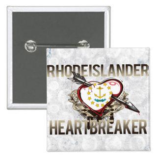 Rhode Islander Heartbreaker Buttons