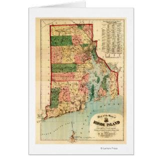 Rhode IslandPanoramic MapRhode Island Card