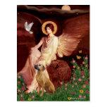 Rhodeisn Ridgebak 2 - Seated Angel Post Card