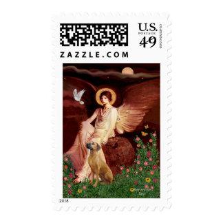 Rhodeisn Ridgebak 2 - Seated Angel Postage Stamp