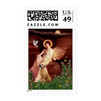 Rhodeisn Ridgebak 2 - Seated Angel Stamp